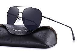 MERRY'S Mens <b>Polarized Sunglasses</b> for Women <b>Aviation</b> Frame ...