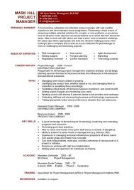 how to became project manager resume job description        job description project manager cv example project management resume samples free