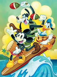 Ceaco Disney Fine Art Surf Trio Jigsaw Puzzle, 1000 ... - Amazon.com