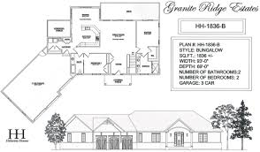 House Plans  HH   B    Architectural Drawings   Granite Ridge    Click for larger version  for printing