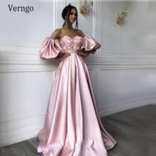 Купить Элегантное розовое <b>вечернее платье Verngo</b>, длинные ...
