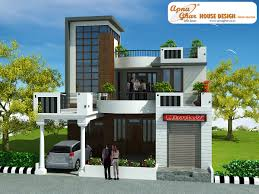 Bedrooms Duplex House Design in m   m X m    Fresh Home Ideas