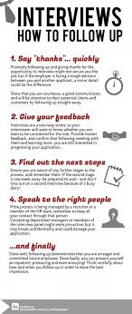 17 best images about job interview infographics are you following up properly after your interviews check out this simple 3 step process