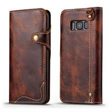 RFID Antimagnetic Vintage <b>Genuine Leather</b> 11 Card Slots Coin ...