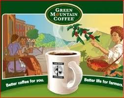 Green Mountain Coffee gains buzz with fair trade awareness
