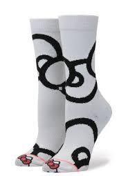 <b>STANCE</b> Women's Hello Kitty by Sanrio <b>Bows White</b> Crew Socks ...
