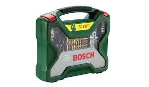 Buy <b>Bosch 70</b> Piece <b>X</b>-<b>Line</b> Drill Bit Set | DIY power tool accessories ...