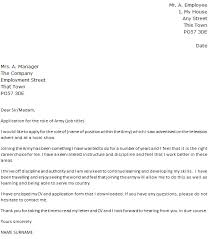 army job cover letter example icoverorguk military cover letters