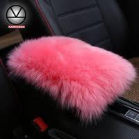 Natural Long Fur <b>Seat Cover</b>