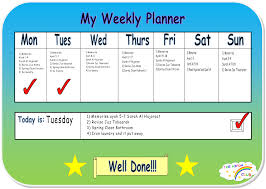 my new hifth planner the hifdh club example weekly hifdh planner