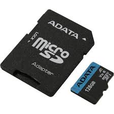 MicroSDXC <b>карта ADATA</b> Premier AUSDX128GUICL10A1-RA1 ...