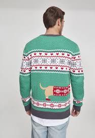 <b>Свитер URBAN CLASSICS</b> Sausage Dog Christmas Sweater ...