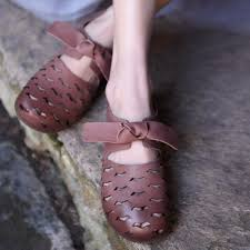 <b>Artmu Original Vintage</b> Hollow Out Women Sandals Shoes ...