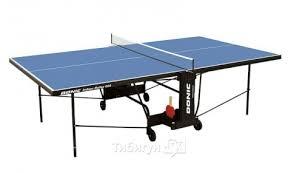 <b>Теннисный стол Donic Indoor</b> Roller 600 синий - купить, отзывы ...