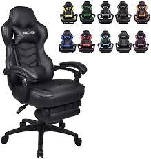 <b>Gaming Chair</b> Racing <b>Leather Office</b> Recliner Computer <b>Desk</b> High ...
