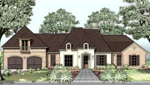 Michael Campbell Design  LC   Purchasing a Plan   Lafayette    House Plan French Country