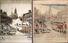 images from american history from left henry pelham the fruits of arbitrary power or the bloody massacre