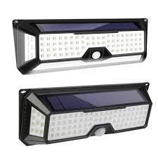 118/136LED <b>Solar Light Solar</b> PIR Motion Sensor <b>Lamp IP65</b> ...