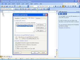 what s new for office developers word 2003 templates and add ins dialog box