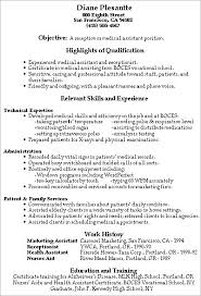 healthcare medical resumemedical receptionist resume template    resume
