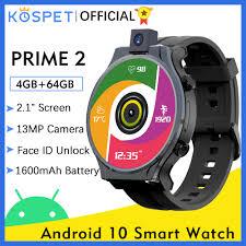 <b>KOSPET PRIME 2</b> 4G Smart Watch Men 4GB 64GB 13MP Camera ...