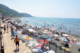 Zonguldak plajları doldu taştı