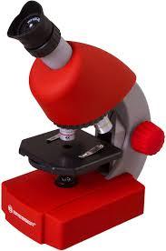 <b>Микроскоп Bresser Junior 40x-640x</b>, красный по цене 4 890 руб ...