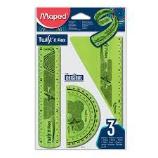 """Купить Набор чертежный малый <b>MAPED</b> """"<b>Twist'n</b> Flex"""" (<b>линейка</b> ..."""