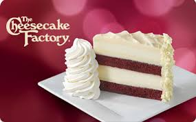 Gift Cards | The Cheesecake Factory