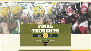Packers vs Falcons: Final Thoughts