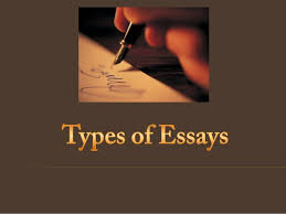 types of essaystypes of essays     