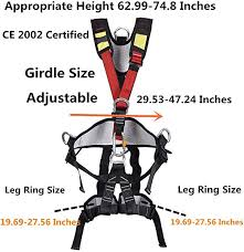Outdoor Professional Rock Climbing Full Body Safety ... - Amazon.com