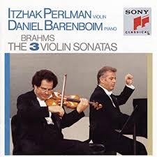 Johannes <b>Brahms</b>, <b>Itzhak Perlman</b>, Daniel Barenboim - <b>Brahms</b> ...