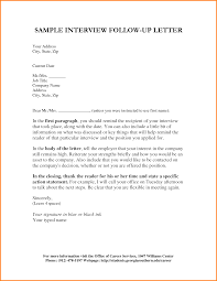 14 follow up interview letter letterhead template sample follow up interview letter 40696797 png