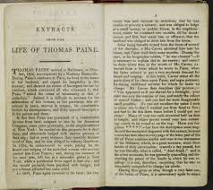 the impact of the french revolution in britain the british library extracts from the life of thomas paine page 2 3