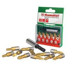 Отзывы на <b>Набор бит Hammer 203-902</b> PB №2, Ph/Pz/Sl/Tx, 12 ...