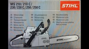 Обзор <b>бензопилы Stihl MS 250</b> - YouTube