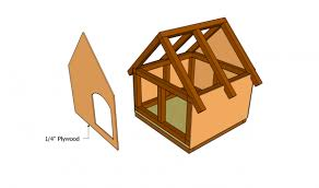 Outdoor Cat House Plans   MyOutdoorPlans   Free Woodworking Plans    Attaching the plywood ends