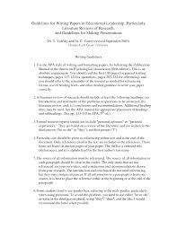 Literature Review Outline Example   Lit Review SlideShare