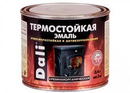 <b>Эмаль термостойкая</b> черная 400 мл <b>DALI</b> – купить <b>эмаль</b> ...