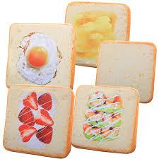 <b>1pc 40cm</b> Simulation Bread <b>Plush Cushion</b> Soft <b>Stuffed Pillows</b> Cute ...