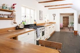 kitchen worktops ideas worktop full: oak cabinets and worktops alongside retro appliances in a country kitchen