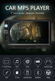 "<b>Jansite 7</b>"" <b>1080P FHD</b> Car Radio MP5 player DVD with digital Touch ..."