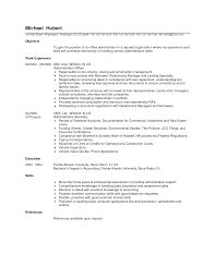 office admin resume samples objective work experience    office admin resume samples objective work experience