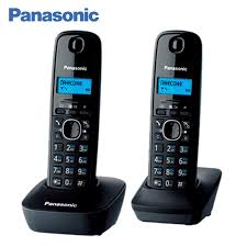 <b>Panasonic KX</b> TG1612RUH DECT phone, 2 Handset, digital ...