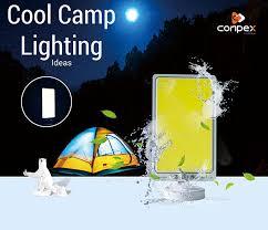 <b>360light COB</b> 12V camp waterproof outdoor lantern led camping ...