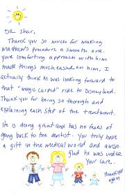 thank you letter to patients from doctor thank you letter  letter