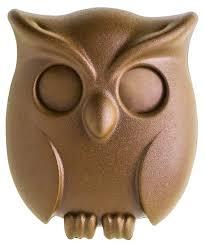 Купить <b>Держатель для ключей</b> Qualy <b>Night</b> Owl коричневый по ...