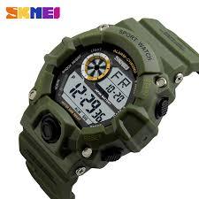<b>SKMEI Outdoor Sport Watch</b> Men Alarm Clock 5Bar Waterproof ...