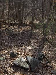 field stone pile